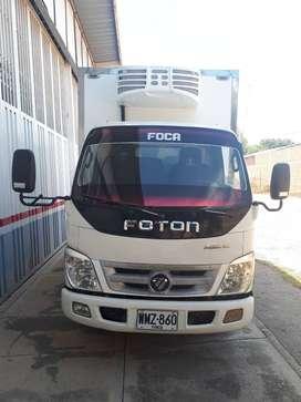 VENDO FURGON MARCA FOTON BJ1039 EN BUENA ESTADO MODELO 2016
