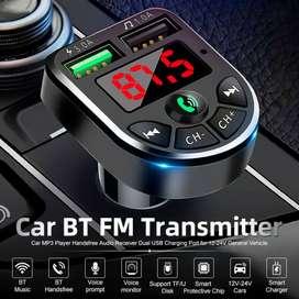 transmisor FM Bluetooth 5,0 para coche, Kit