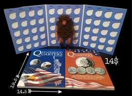 Álbumes para monedas