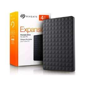 Disco Duro Externo Seagate Expansion 4 TB - USB 3.0