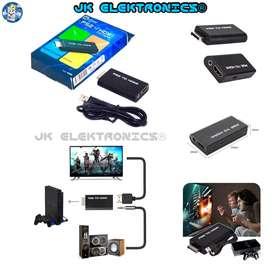 Convertidor PlayStation 2 a HDMI, Video 480i, 480p y 576i, 5V, Audio Auxiliar Stereo