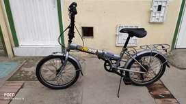 Bicicleta plegable nueva barata