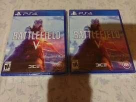 Battlefield V PS4 play 4 nuevo y sellado