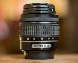 Lente SMC Pentax DAL 1:3.5-5.6 18-55mm AL