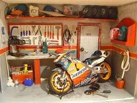 Mecanica de Motos. Reparaciones arreglos adaptaciones y mantenimiento en general de todo tipo de motos y cilindradas.