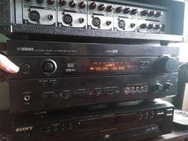 amplificador technics y yamaha