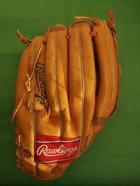 Vendo guante de béisbol Rawlings original usado para zurdo talla S