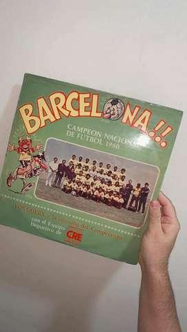 BARCELONA CAMPEON 1980 (DISCO LONG PLAY NUEVO)