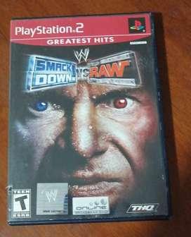 Smack Down vs Raw  Play Station 2