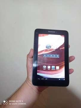 Tablet marca Lenovo A2107 en buen estado