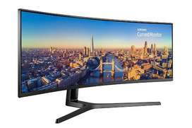 "Monitor Samsung 49"" curvo Super Ultrawide"