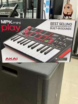 Controlador - Sintetizador AKAI MPK MINIPLAY
