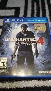 uncharted 4 juego ps4 en venta