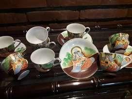 Juego de cafe porcelana china