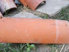 Vendo tejas coloniales marca Alberdi de demolición