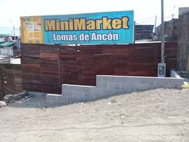 OCACION - VENTA DE TERRENO 140 M2 - ANCON