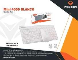 Combo Teclado + Mouse Meetion Mini 4000 Black