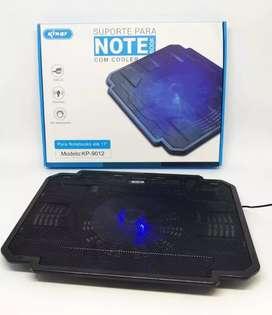 Base cooler refrigerante para notebook