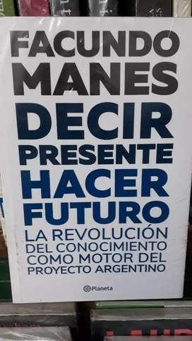 DECIR PRECENTE HACER FUTURO (nuevo)