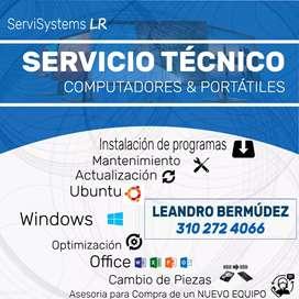 Servicio técnico a computadorez