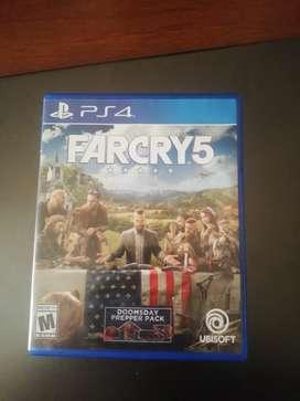 Farcry 5 en perfecto estado