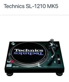 TOCADISCOS TECHNICS MK5