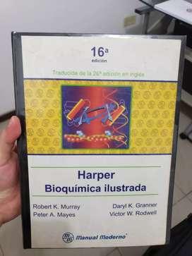 Libro de medicina bioquímica de Harper