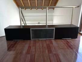 Mueble archivador flotante