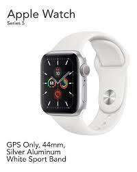 Apple Watch Serie 5 44mm Gps Gris Aluminio Malla Blanca.NUEVOS-SELLADOS-ORIGINALES