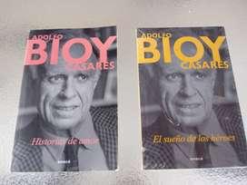 Libros de Bioy casares $150 cada uno o dos $250