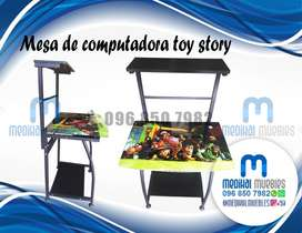 MESA DE COMPUTADORA TOY STORY ESCRITORIO