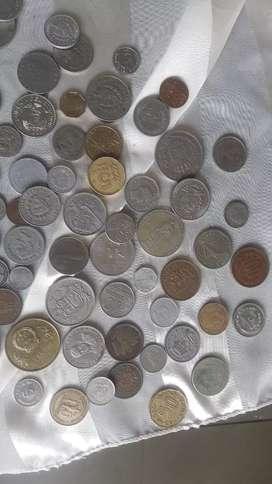 80 monedas de todo el mundo