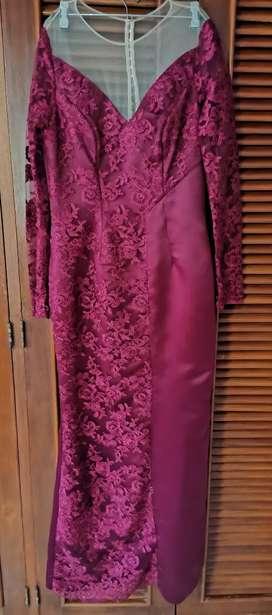 Vendo vestido largo para fiesta Dama
