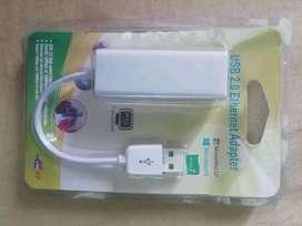 Adaptador USB 2.0 a rj45