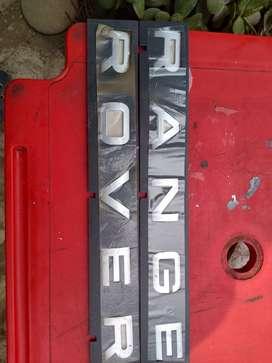 Emblemas para autos Volvo y land rover