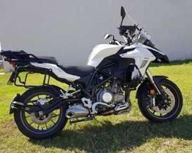 Moto Benelli TRK 502 Muñoz Marchesi