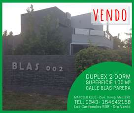 DUPLEX 2 DORMITORIOS -  Zona Blas Parera