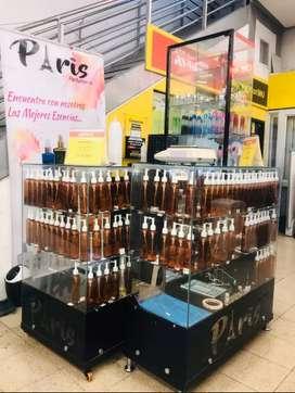 Se vende negocio acreditado extractos de perfumería.