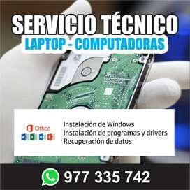 servicio tecnico de laptop en pisco