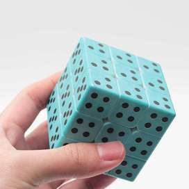 Cubo Rubik Braille 3x3 Armar A Ciegas Zcube Textura Tacto