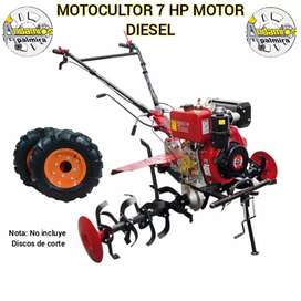 Motoazada 7 hp motor diesel