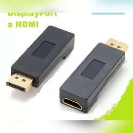 DISPLAY PORT MACHO  A HDMI HEMBRA