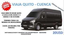 Pasaje, Traslado, viaje directo, Quito Cuenca, Trasporte