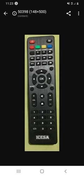 Vendo nuevo control remoto para Smart Tv Global Icesa Nakamichi Diggio Doppio Soy de Guayaquil y hago envíos