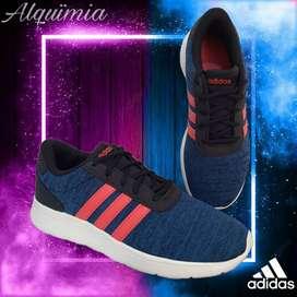 Adidas: - Tenis LiteRacer K.