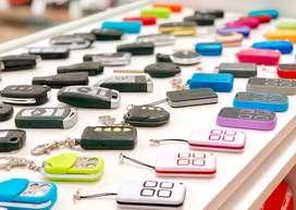 Carcasa Llave Control de Alarma para Carros + Forro Protector Silicona para Control de Alarmas Autos Coche Carro