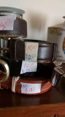 Vendo cinturones hombre poco uso