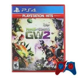 Plants Vs Zombies Gw2 Ps4 Físico