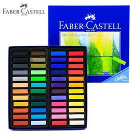 Faber Castell 48 Tizas Colores Pasteles