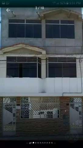 Alquilo amplio y acogedor departamento, 2do piso en Urb. Teresa de Calcuta II etapa-La Victoria-Chiclayo.